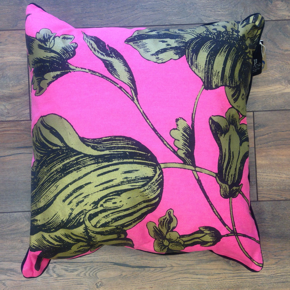 Cushions Pink Flower Cushion
