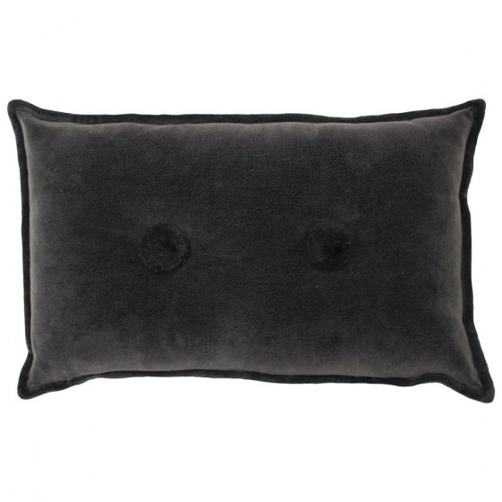 bobble_30x50_charcoal_mor_gifts_interiors_cushions